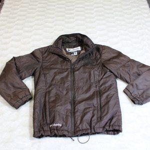 Columbia Women Size Small Jacket Brown winter fall